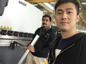 Манай үйлдвэрт Алжирын Үйлчлүүлэгчид Тест хийх Тормозны машин