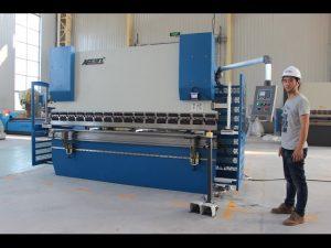 CE 2 тэнхлэг CNC Press Brake 130Tx3200 E200 Сүлжээний Сүлжээний Систем NC Хэвлэлийн Тоормосны машин