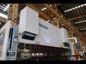 Гидравлик Сүлжээний Холболт хэвлэлийн тоормос / хуудас металл нугаралт машин MB7-125Tx3200