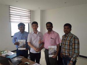 Шри Ланкийн хэрэглэгчид манай компанид Mr.Tai-тай технологийг хэлэлцдэг