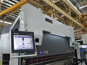 Delem DA52 гидравлик нугаралт машин, үнэн зөв байрлал Хэвтээ хэвлэлийн тоормосны үнэ, CNC өнцөг төмрийн