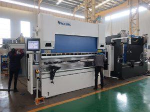 WC67K Servo цахилгаан таслагч, гидравлик нугаралт машин, servo CNC металл нугаралт машин