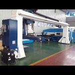 Gantry загварын 5 тэнхлэг CNC хэвлэлийн тоормосны робот гулзайлтын / Turret цоолтуурын хэвлэлийн