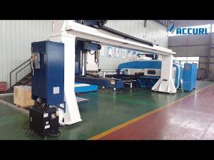 Gantry style 5 тэнхлэг CNC хэвлэлийн тоормос робот гулзайлтын / Turret цоолтуурын хэвлэлийн