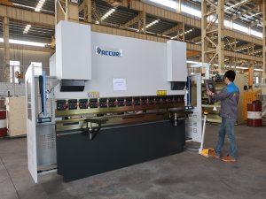 өндөр чанарын зөөврийн жижиг 30 тонн CNC нугалахад машин, жижиг хэвлэлийн тоормосны instock