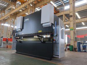 CNC гидравлик Servo гидравлик зэвэрдэггүй ган төмрийн ган хавтан НК хэвлэлийн тоормос нугалах машин нугалахад байна